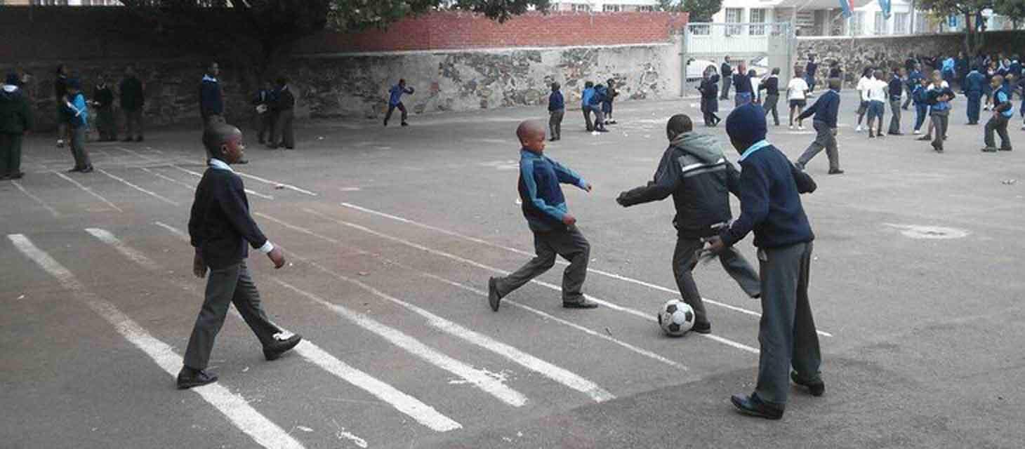 Fußball und Sportprogramm - Freiwilligenarbeit in Südafrika